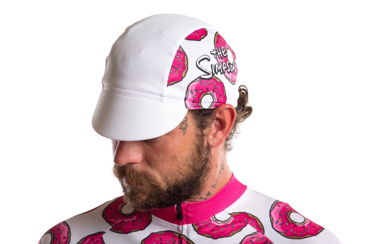 1df52d9fa The Simpsons X State Bicycle Co. - Donut Cycling Cap