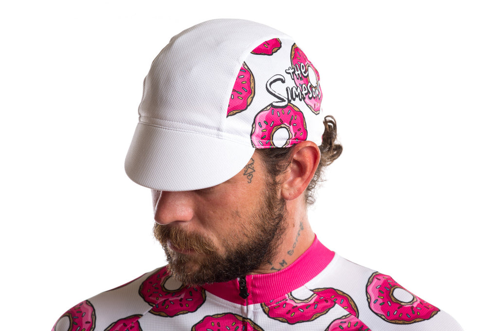 The Simpsons X State Bicycle Co. - Donut Cycling Cap