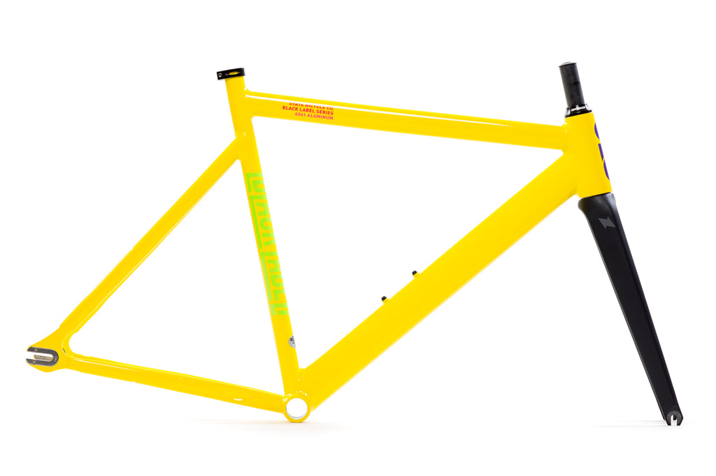 Black Label v2 - Frame Set - Savage Yellow (1-Run)