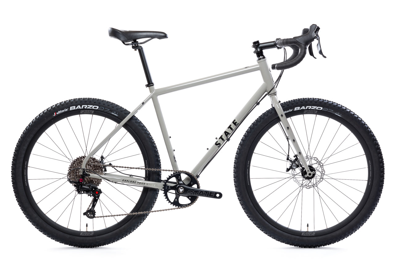 state bicycle co 4130 all road gray 1v