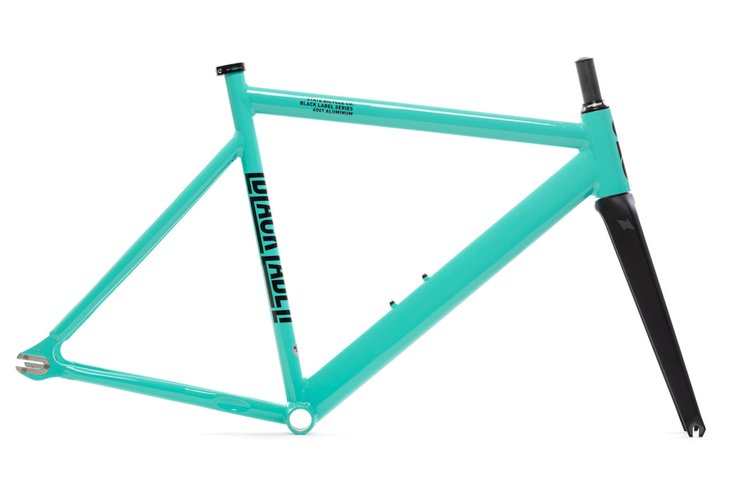 Black Label v2 - Frame Set - Turquoise (1-Run)