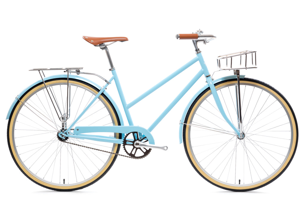 City Bike - The Azure Deluxe (Single-Speed)