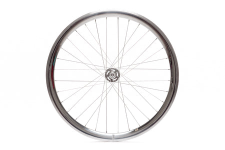 State Bicycle Co. - 40mm Deep V Silver Wheel Set
