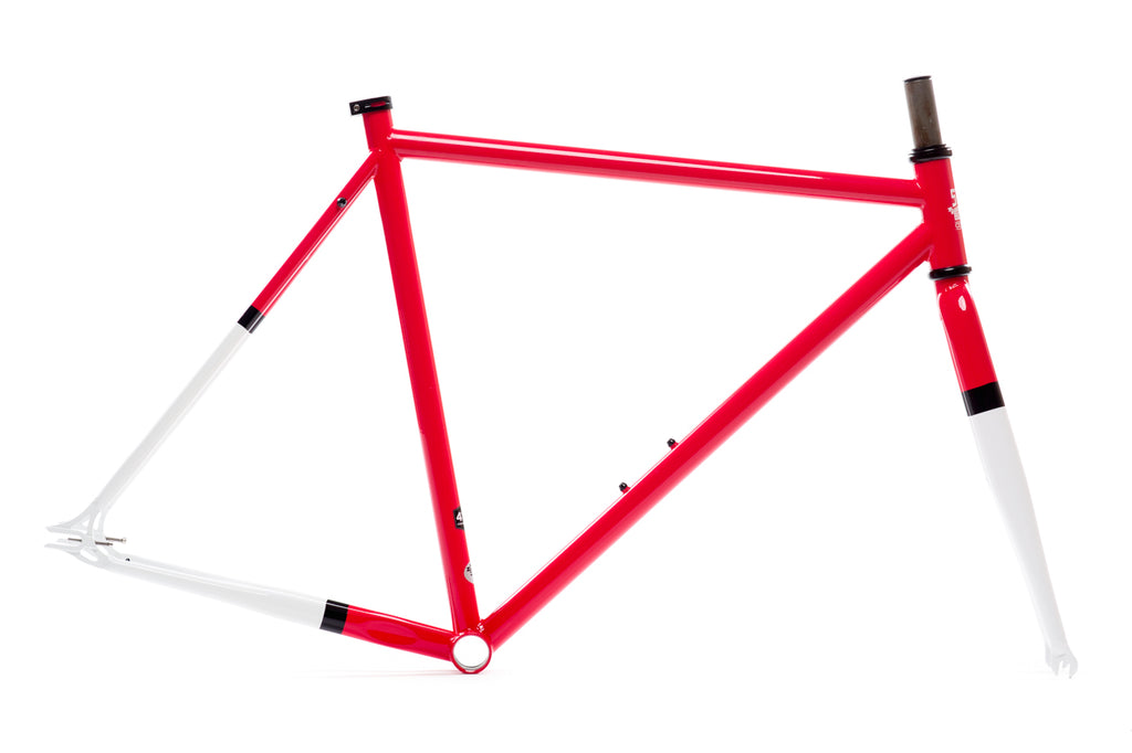 Montoya Frame Set - Double Butted 4130 Chromoly Steel Tubing