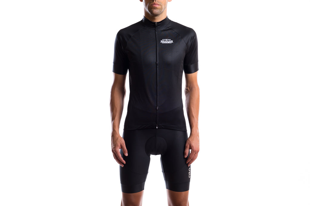State Bicycle Co. - Black Label Jersey - Black
