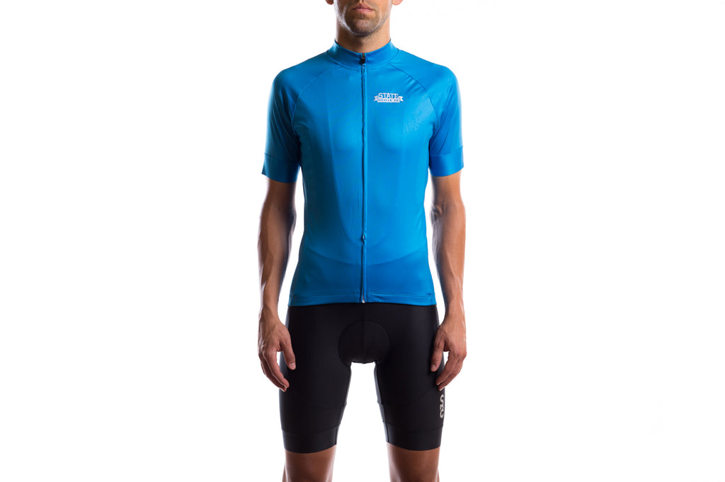 State Bicycle Co. - Black Label Jersey - Laguna Blue