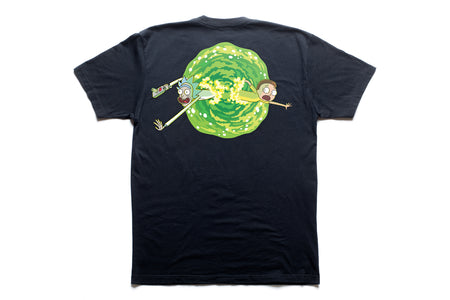 "State Bicycle Co. x Rick and Morty - ""Portal"" -Collab T-Shirt"