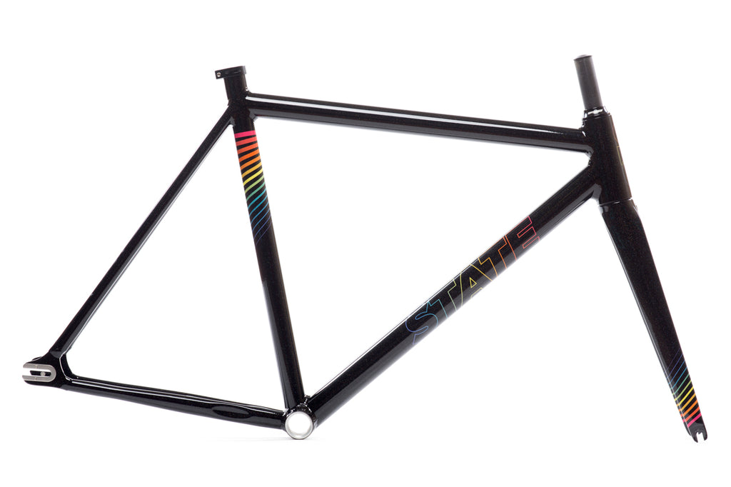 Undefeated II Frame & Fork Set - Black Prism Edition