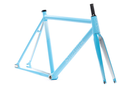 Undefeated II Frame & Fork Set - Photon Blue Edition