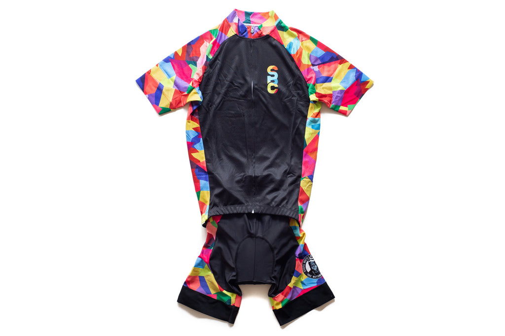 State Bicycle Co. x The Notorious B.I.G. - 'Stained Glass' Kit (Jersey & Bib Set)
