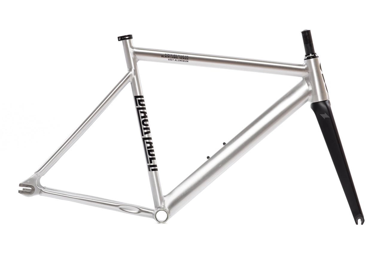 6061 Black Label v2 Frame Set - Raw Aluminum : Track Bike Frames ...