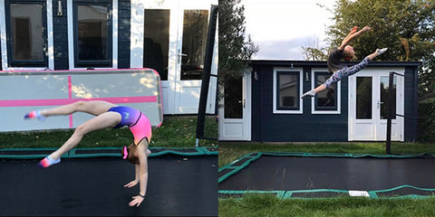 Gymnastic training at home