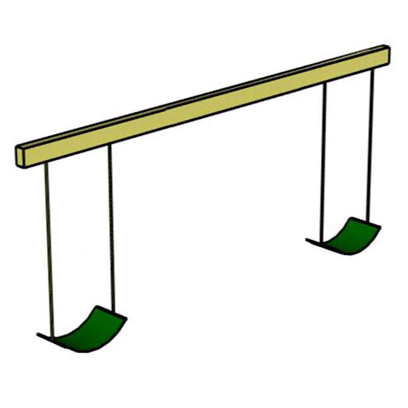 1+1 Position Swing Beam