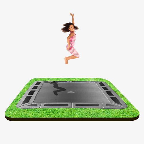 10ft X 6ft  Capital In-ground Trampoline