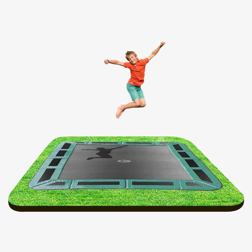 11ft X 8ft  Capital In-ground Trampoline