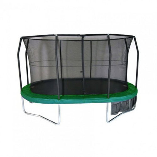 11.5ft x 8ft  Oval Jumpking JumpPOD Trampoline Net