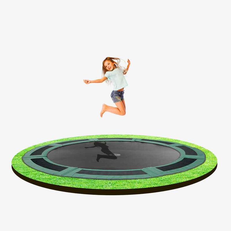 14ft Capital In-ground Trampoline - Round