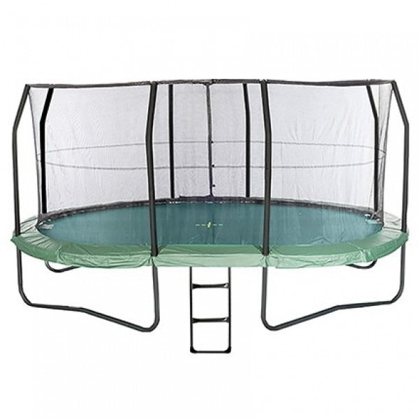 17ft x 14ft Oval Jumpking JumpPOD Ultra Trampoline Net