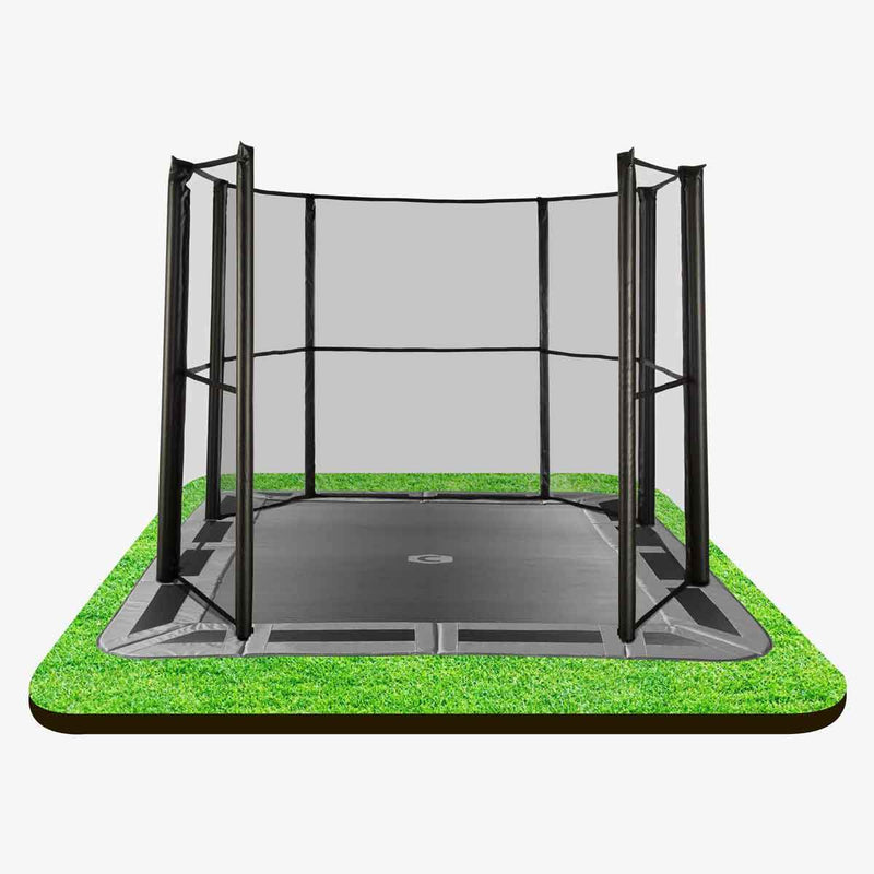 11ftX8ft In-ground Enclosure 3/4 net