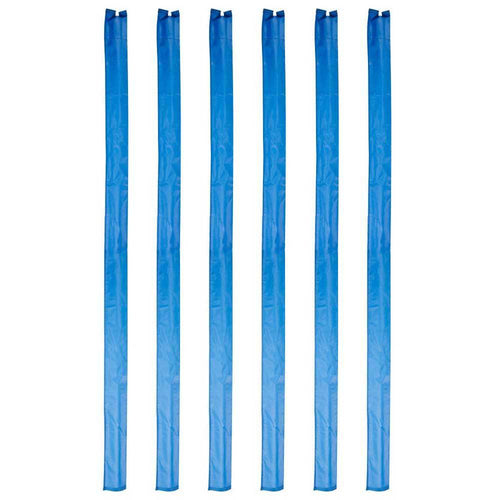 Set of 6 1.7m Trampoline Enclosure Pole Sleeves -  (for 50mm wide foam)