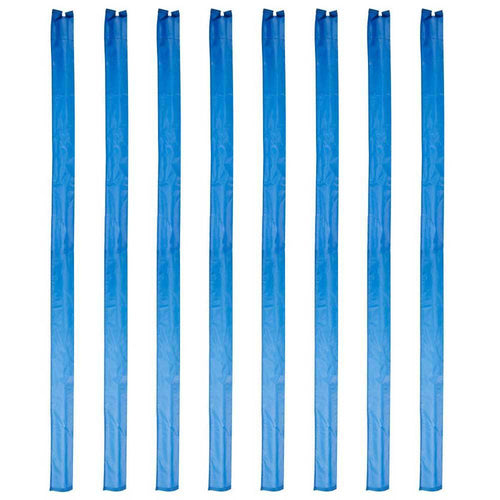 Set of 8 1.7m Trampoline Enclosure Pole Sleeves -  (for 50mm wide foam)