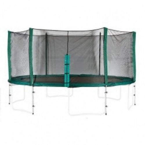 10ft enclosure - 8 poles 10ft Trampoline Enclosure Kit - 8 Poles (Sleeved Net)