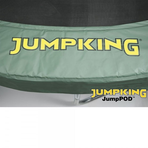 10ft (Green) 10ft Trampoline Pads For 8 Pole Jumpking Trampolines