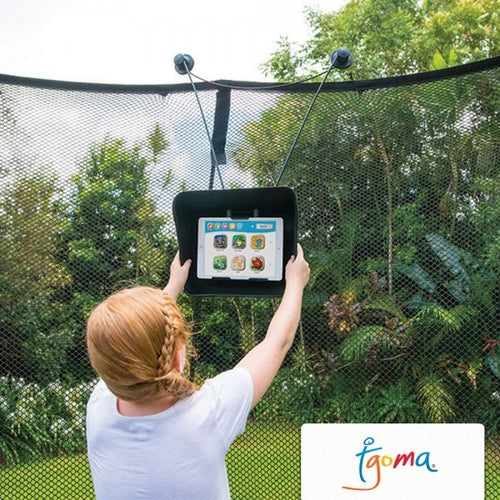 077 Springfree 'tgoma®' Interactive Trampoline Gaming System O77