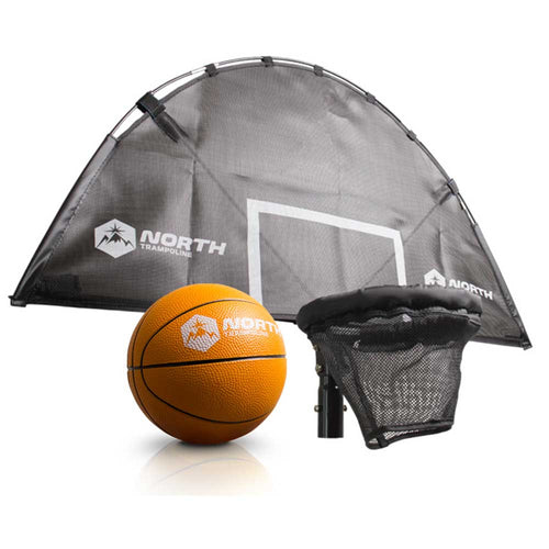 North Explorer Basketball Hoop and Ball