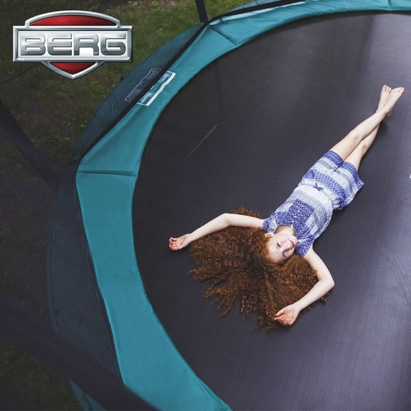 Child on BERG trampoline