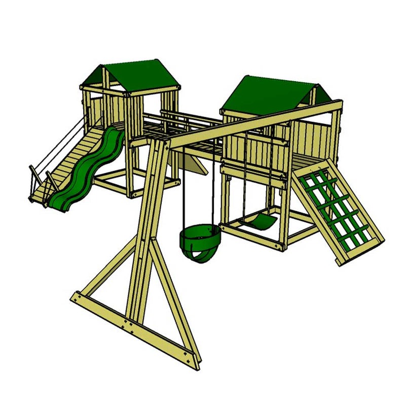 Canyon Twin Adventurer Climbing Frame