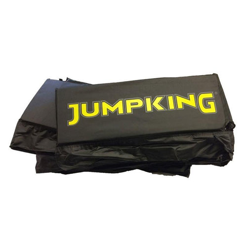 11.5ft x 8ft (Black) 11.5ft x 8ft Jumpking JumpPOD Capital Deluxe and Capital Ultra Trampoline Pads