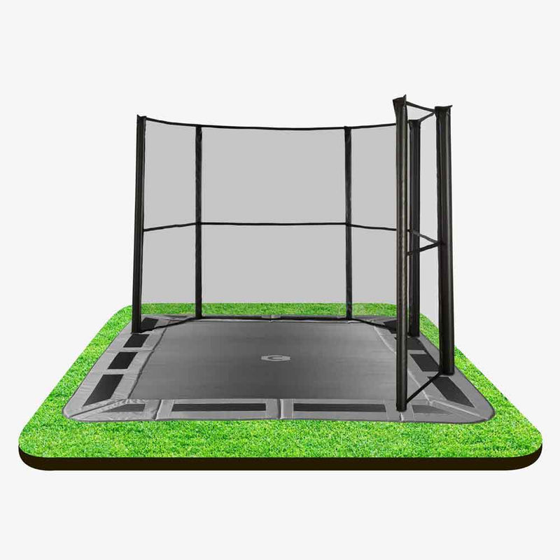 11ft X 8ft In-ground Enclosure corner