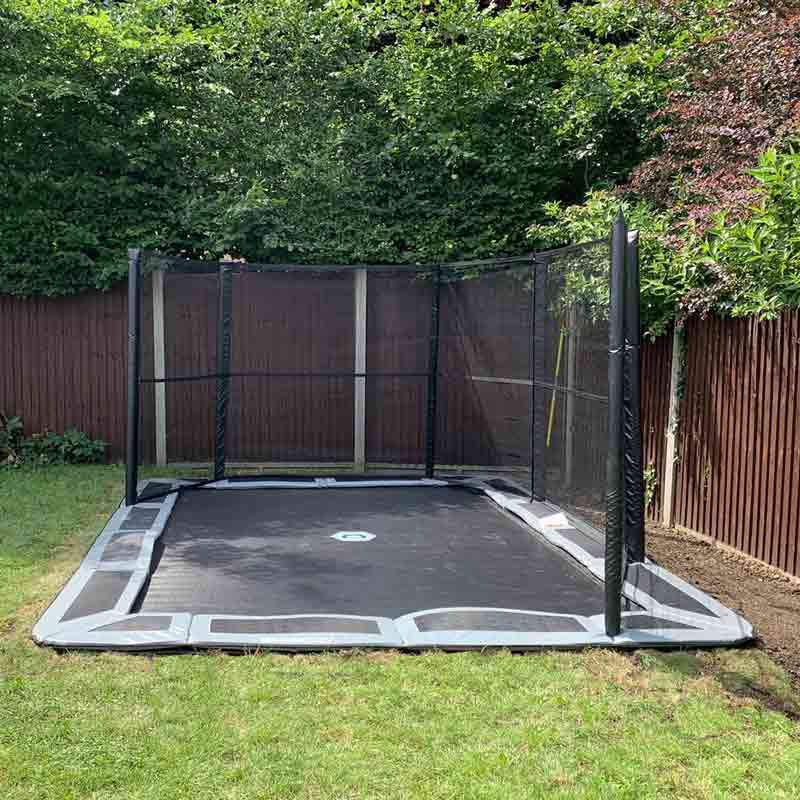 11ftX8ft Capital In-ground Enclosure net