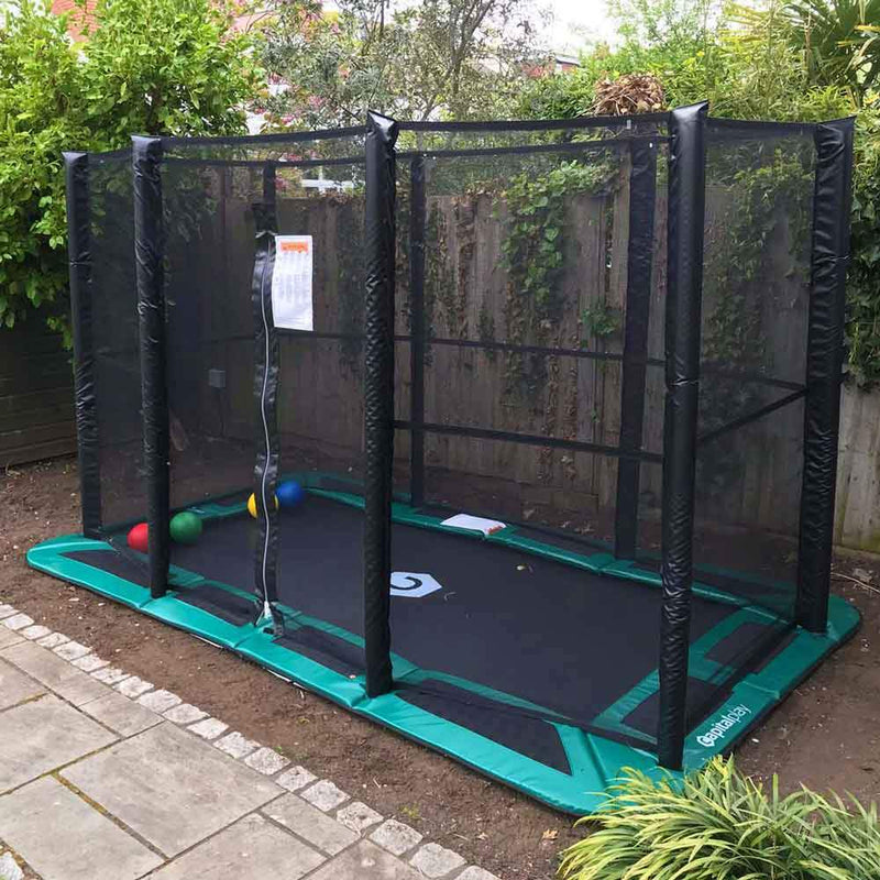 11ftX8ft In-ground Enclosure Full net