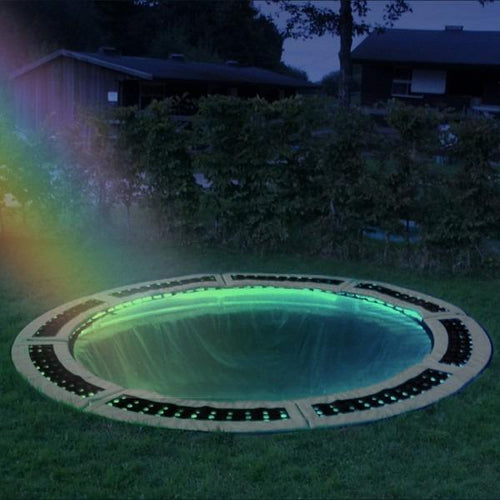 Small In-ground Trampoline Lighting System - Colour Controlled