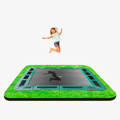 14ft X 10ft  Capital In-ground Trampoline