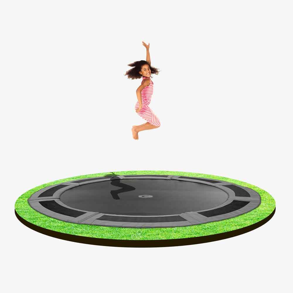 12ft Round In-ground Trampoline kit   Capital Play UK