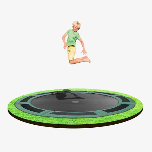8ft  Round Capital In-ground Trampoline