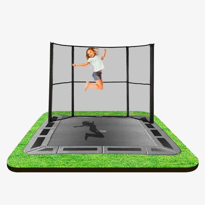 11ftX8ft In-ground Enclosure side