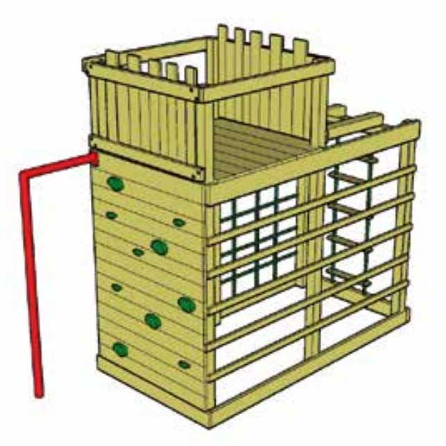 Fort Top (for Monkey Climber)