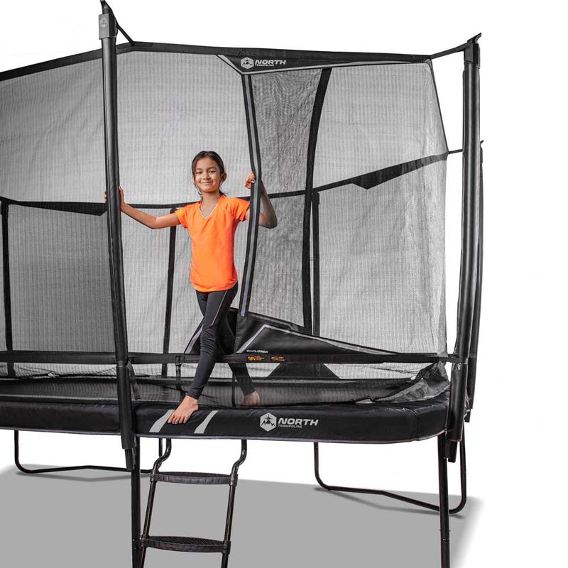 North Explorer Trampoline Medium Ladder