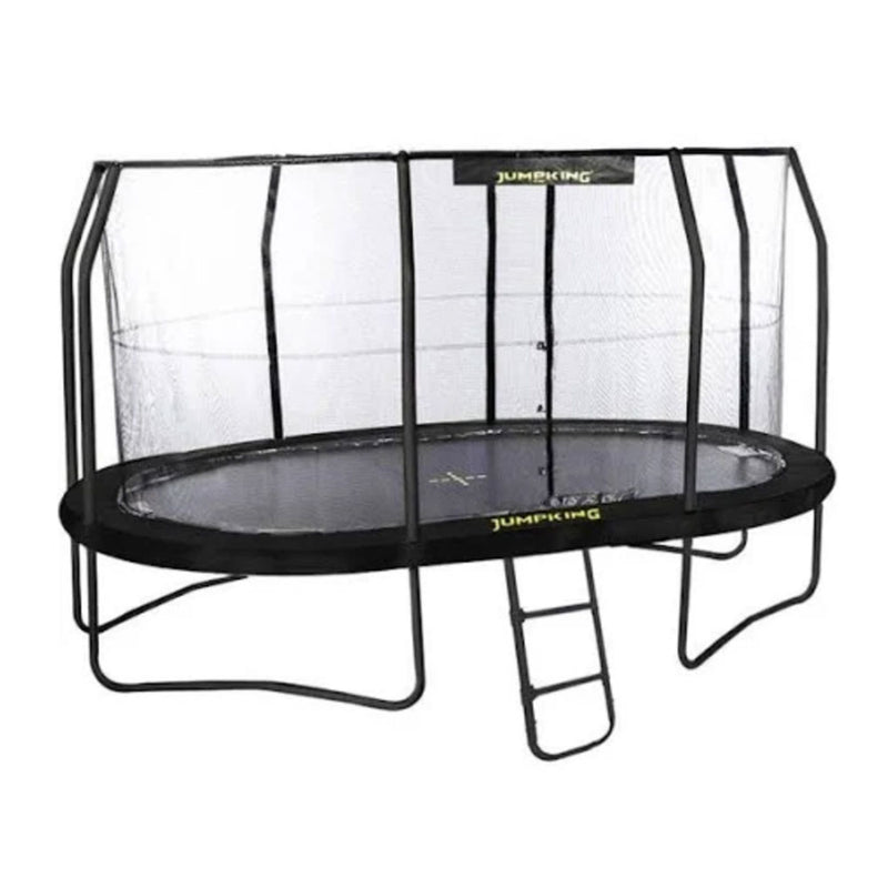 11.5ftx8ft Jumpking Oval Trampoline