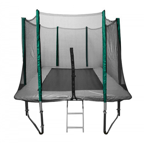 Sleeved net 12ft x 8ft Premium Rectangular Trampoline Sleeved Net (For Trampolines With 8 Poles)