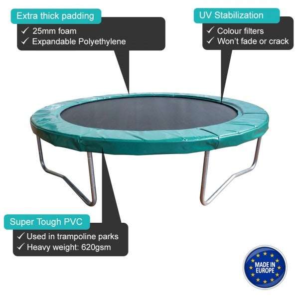 Commercial trampoline information