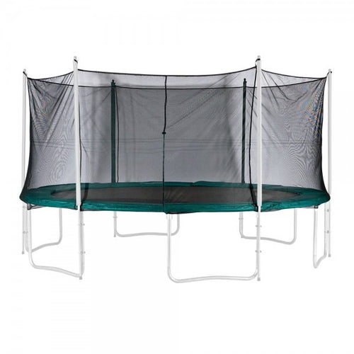 Outside net 14ft Premium Trampoline Outside Net (For Trampolines With 6 Poles)