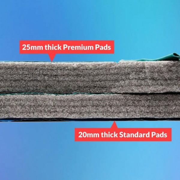 Trampoline foam comparison