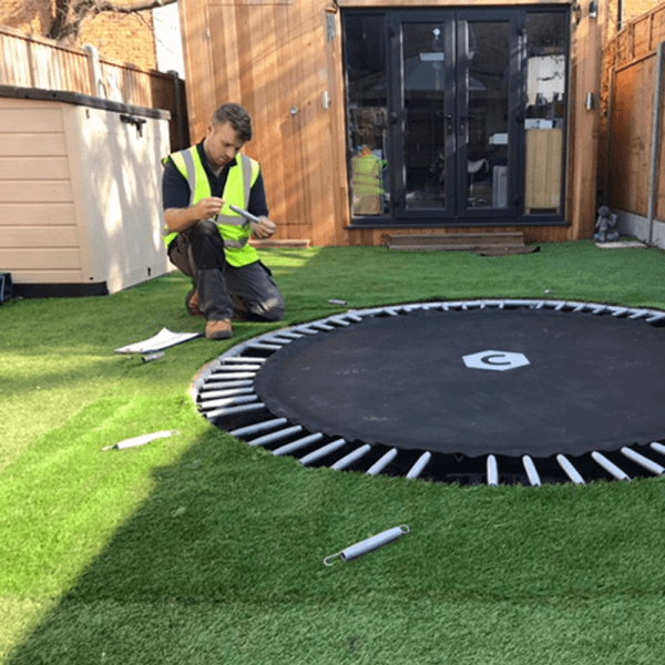 In-ground Trampoline Service