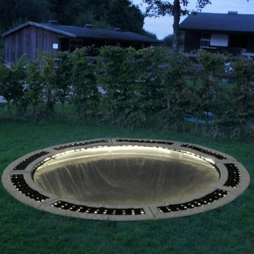 Small In-ground Trampoline Lighting System - Warm White