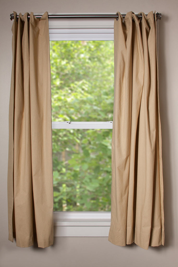 Very best Wheat Hanging Curtain Kit | CurtainKitsNow NE15
